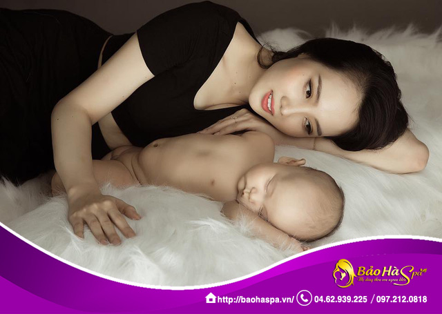 Các hot mom thông minh, xinh đẹp chăm sóc bầu và sau sinh như thế nào? - Ảnh 1.