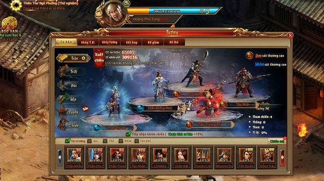 Tính chiến thuật sẽ được thể hiện qua lối chơi kết hợp SLG