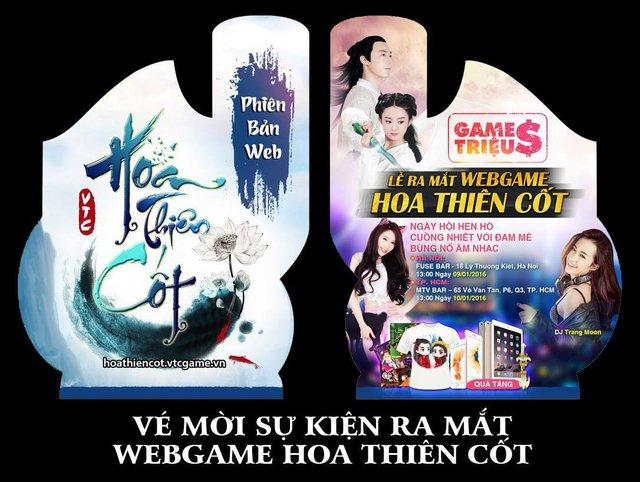 Webgame Hoa Thiên Cốt mở teaser kích thích game thủ