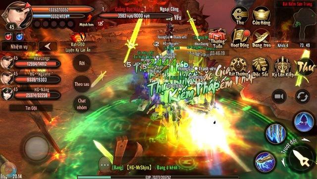 Phong Vân 3D: Cẩm nang cho game thủ khi max level