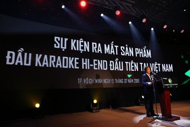 Nhan hieu PARAMAX gioi thieu may karaoke HiEnd o Viet Nam