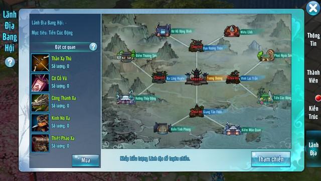 Võ Lâm Truyền Kỳ Mobile: Bí ẩn nào đang nằm bên dưới bản đồ Công Thành Chiến?
