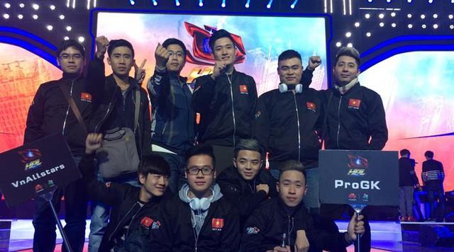 """[HPL 2016] Cảm ơn ProGK và VNAllStars – Các bạn đã thi đấu với tinh thần của một """"người Việt Nam"""" thực thụ!"""