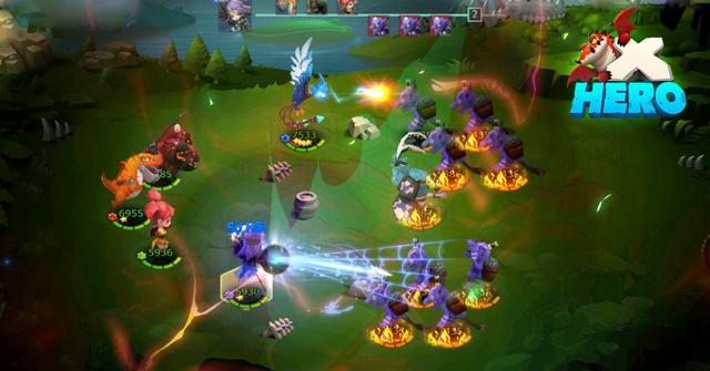 Game phong cách Global X HERO chính thức ra mắt game thủ Việt 7/12