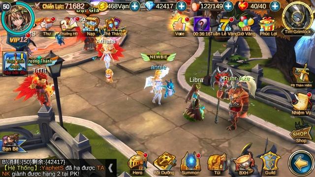 Khế Ước 5 Hiệp Sĩ đưa game thủ Việt trở về cội nguồn MMO