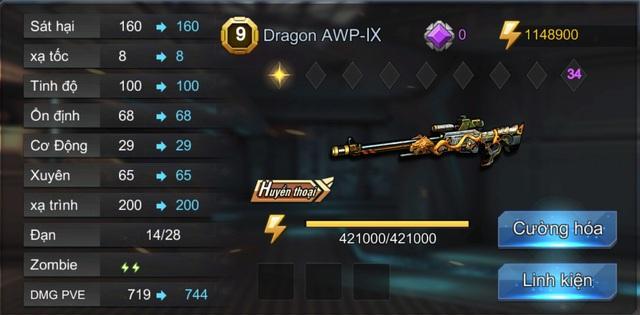 Dragon AWP: món đồ không thể thiếu của dân Sniper Tập Kích - ảnh 4