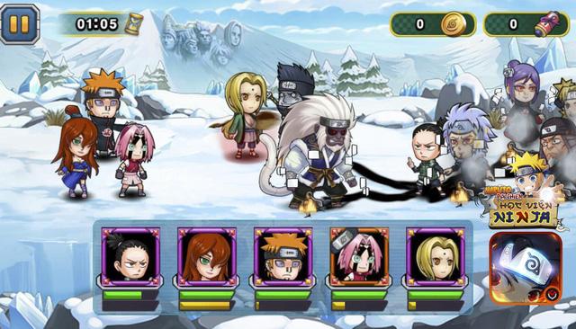 Học Viện Ninja – Game chuẩn Naruto cho phép mở tải hôm nay!