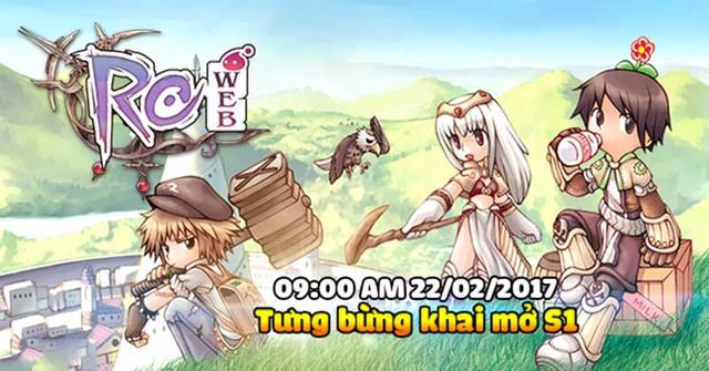 Ragnarok Web chính thức ra mắt game thủ Việt vào ngày 22/02