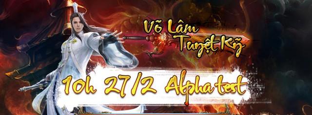 Võ Lâm Tuyệt Kỹ ra mắt teaser công bố ngày Alpha Test