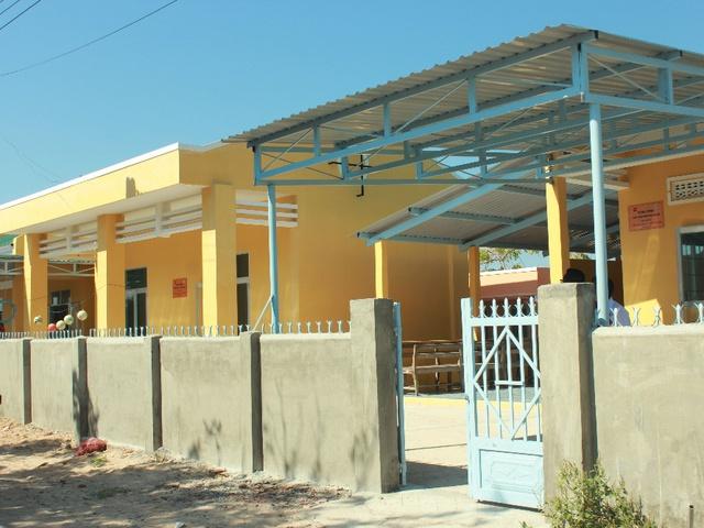 Công trình hoàn tất vào tháng 12, hiện đang được sử dụng làm trường mầm non cho hơn 100 em nhỏ đến học tập mỗi ngày và là nhà sinh hoạt cộng đồng cho hơn 500 người dân xung quanh
