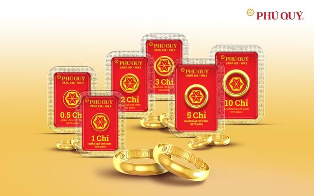 Nhẫn trơn vàng 24K Phú Quý