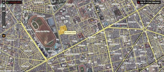 Xi Grand Court lợi thế không chỉ vì vị trí 4 mặt tiền mà còn nằm trong khu vực trung tâm hiện đại