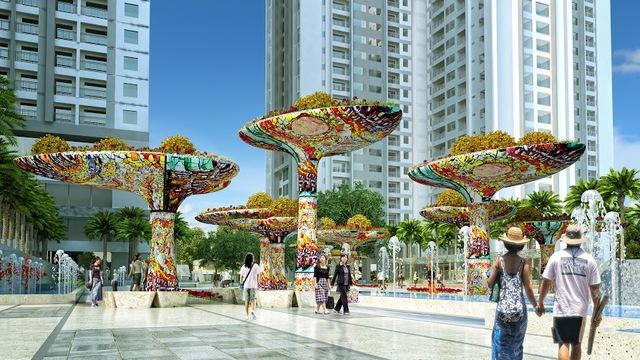 Goldmark City vinh dự đón nhận danh hiệu dự án nhiều quảng trường nhất Hà Nội