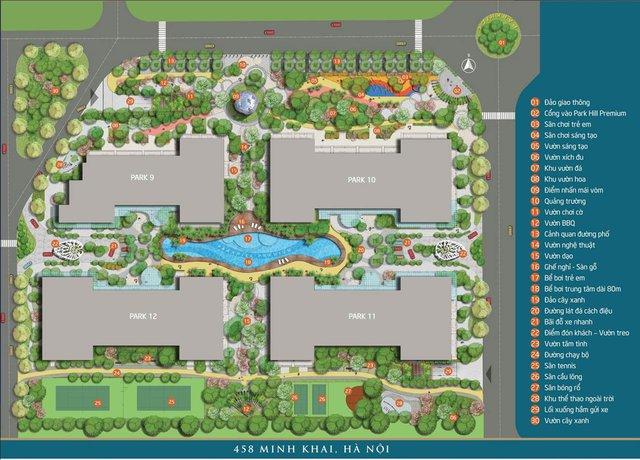 Tiện ích tối ưu song hành cùng ưu đãi lớn tạo nên sức hút của Vinhomes Times City Park Hill