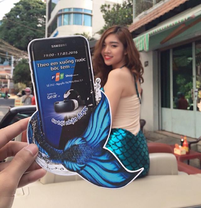 """Sự kiện Mỹ Nhân Ngư """"bóc tem"""" Galaxy S7 chính hãng sẽ diễn ra vào lúc 19h ngày 17/3 tại FPT Shop số 202 Nguyễn Thị Minh Khai, Q3 (Tp.HCM) và được truyền hình trực tiếp đến 15 cửa hàng lớn trên toàn quốc"""