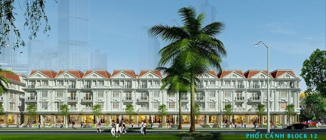 Mô hình nhà phố thương mại (shophouse) được ưu chuộng trên thị trường bất động sản
