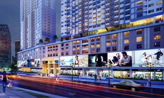 Khu thương mại của dự án