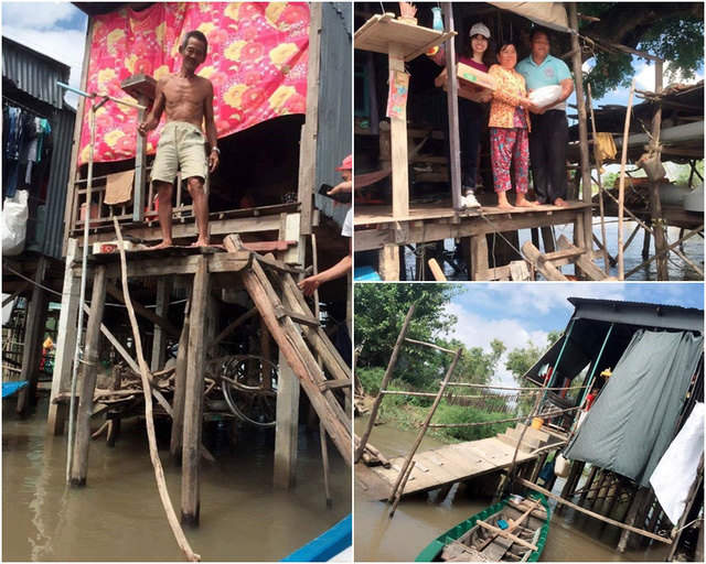 Hoàn cảnh khó khăn của những người dân vùng sông nước