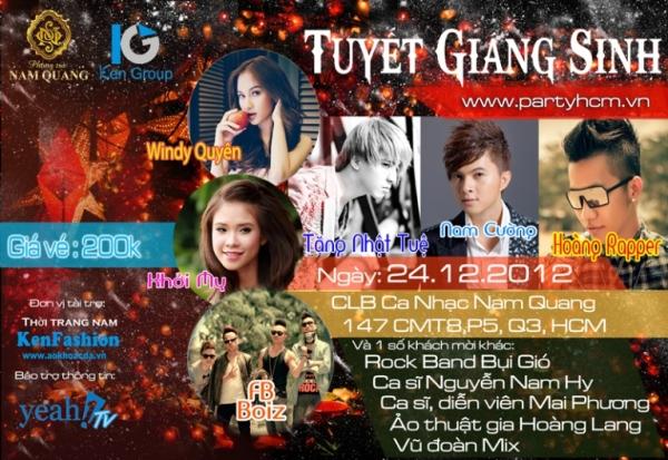 Những địa điểm vui chơi tại Sài gòn Giáng sinh 2012 1