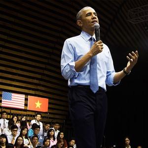 Cuộc gặp gỡ giữa Tổng thống Obama và giới trẻ Việt Nam