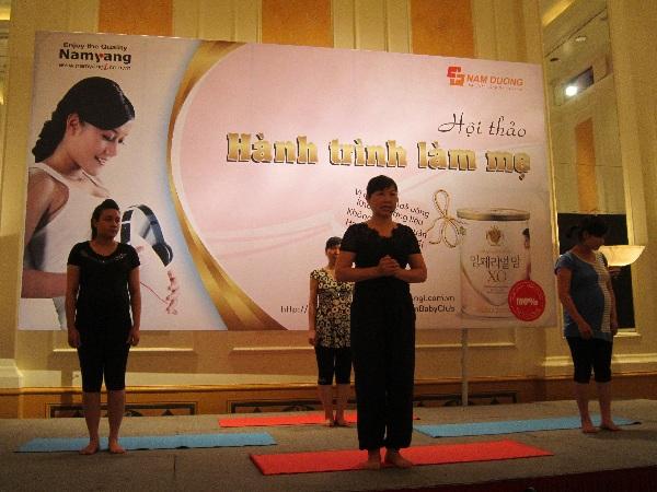 Lợi ích từ việc tập Yoga cho thai phụ 1