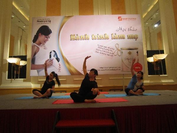 Lợi ích từ việc tập Yoga cho thai phụ 2