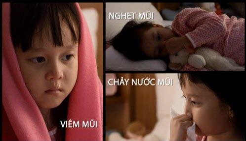 Viêm mũi dị ứng ở trẻ lúc giao mùa 1