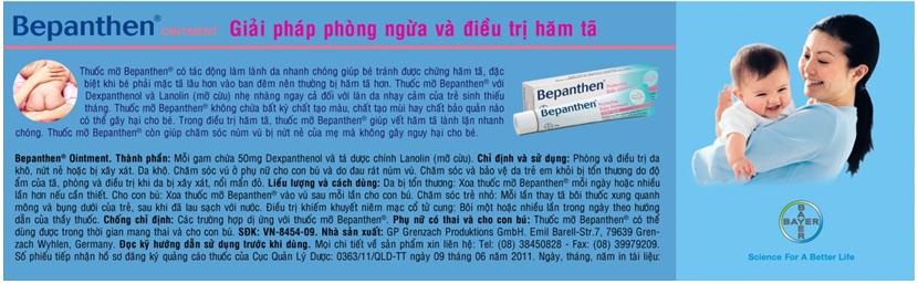 Bác sĩ Nguyễn Thị Thanh mách mẹ cách phòng hăm tã mùa đông 2