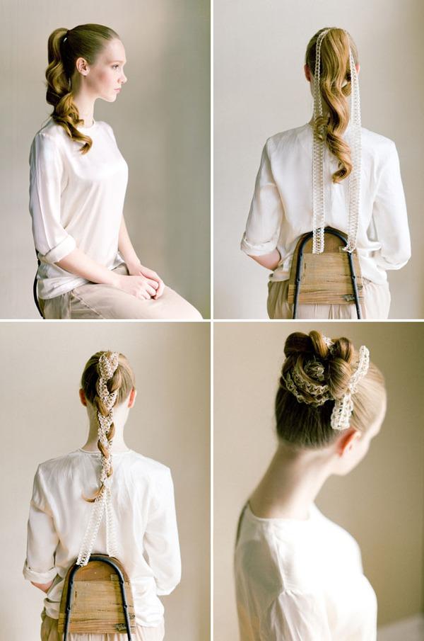 3 kiểu tóc tết cho các dịp lễ cuối năm 9