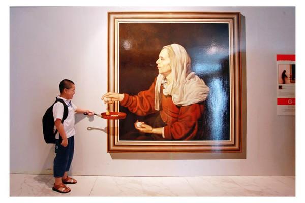 """Vui tết thiếu nhi: cùng bé """"lên trời, xuống bể"""" tại Keangnam Landmark 72 6"""