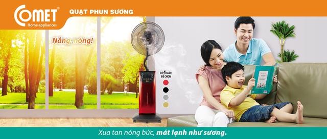Quạt phun sương sản phẩm cho mùa nóng 2