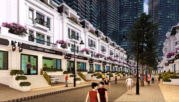 Sắp mở bán khu nhà phố thương mại duy nhất khu đô thị Nam Thăng Long