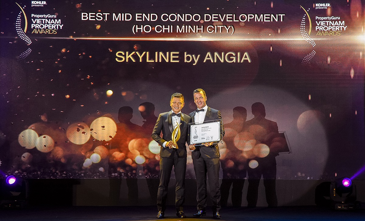 """Dự án Skyline của An Gia được vinh danh tại """"PropertyGury Vietnam Property Awards"""""""