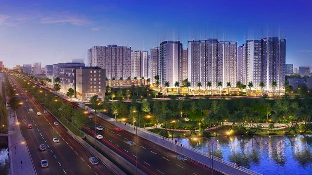 Khu Tây Sài Gòn trở thành điểm sáng căn hộ tầm trung