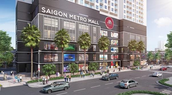 Saigon Metro Mall: Dự án thương mại nổi bật tại quận 8