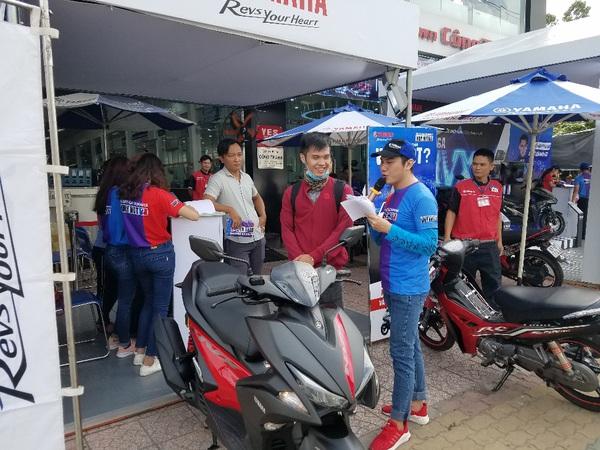 Chỉ số tiêu hao nhiên liệu thực tế của xe Yamaha NVX là bao nhiêu?
