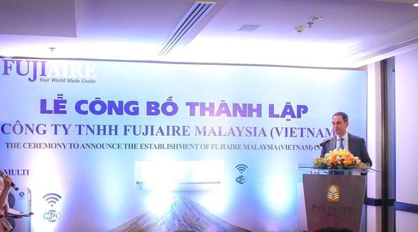 Tập Đoàn Điều hoà Fujiaire Malaysia trực tiếp đầu tư vào Việt Nam