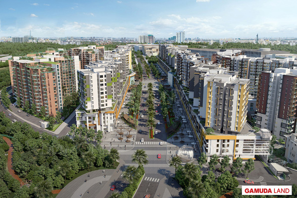 Đại lộ Gamuda – Tâm điểm giao thương của Khu Tây Thành Phố