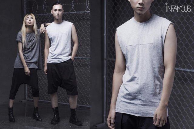 Bỏ qua màu mè rực rỡ, Dark-wear mới là trend hè này - Ảnh 4.