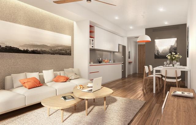 Ariyana Smart Condotel với 394 căn hộ-khách sạn, có diện tích từ 49 – 114m2, trang bị 100% nội thất cao cấp.