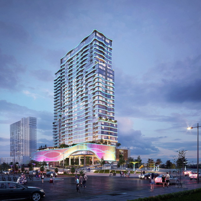 Phối cảnh Coco Ocean-Spa Resort – Một dự án condotel tại Đà Nẵng đang hút nhà đầu tư.
