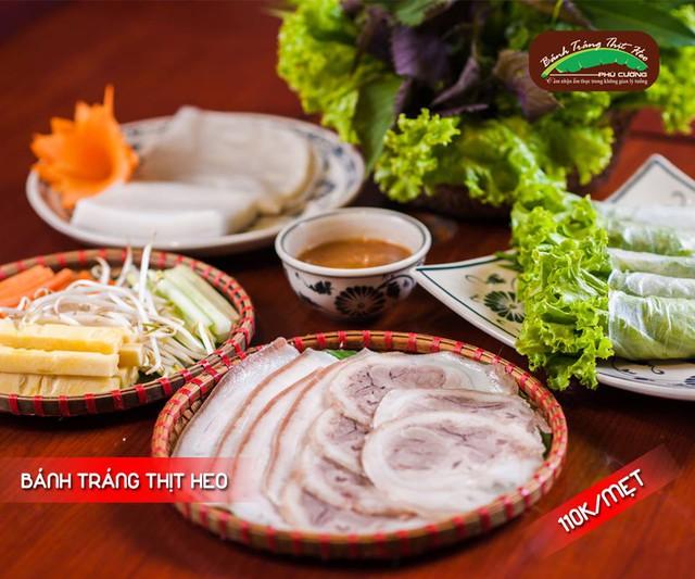 Ưu đãi 50% khai trương cơ sở mới tại bánh tráng cuốn thịt heo Phú Cường - Ảnh 2.