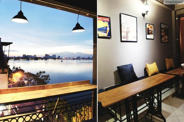 Tháng Mười – Quán café view Hồ Tây siêu đẹp cho những tâm hồn hoài cổ